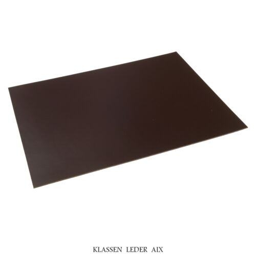 Cuir de vachette Moka 2,5 Mm Dick pièce a3 marron en cuir véritable peau leather 171