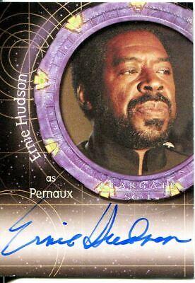 Stargate SG-1 Season 9 Autograph Auto A88 Ernie Hudson Pernaux