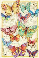 Cross Stitch Kit ~ Gold Collection Butterfly Beauty Kaleidoscope #70-35338