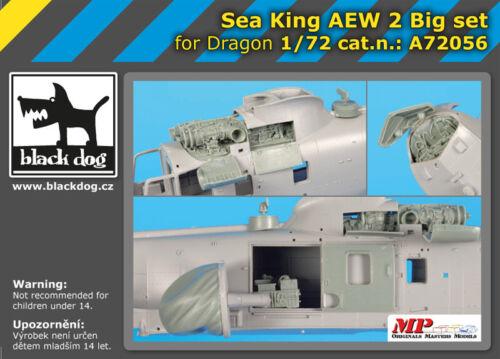 Black Dog A72056 Résine 1//72 Sikorsky Sea King AEW.2 Big Set Dragon