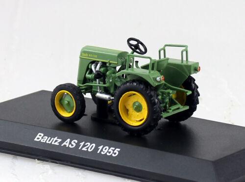 Bautz AS 120 grün 1955 Traktor 1:43 Hachette//UH Modellauto