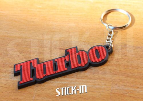 Porte Clés Keyring Renault 5 Alpine Turbo Rouge Noir Red Black Keychain Badge