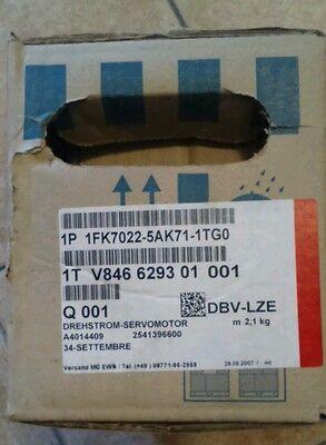 Motore Brushless Siemens 1FK7022-5AK71-1TG0