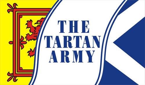 SCOTTISH PRIDE BANNER 5x3 Feet THE TARTAN ARMY FLAG