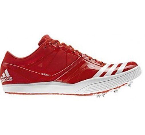 NWT Adidas Adizero LJ2 Long Jump V20144 Track  Field Cleats Spikes 14  Track Men's Red 3c2040