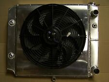 Jeep Wrangler TJ YJ Aluminum Radiator/V8 ls LS1 LS2 LS3 made in USA WITH FAN &