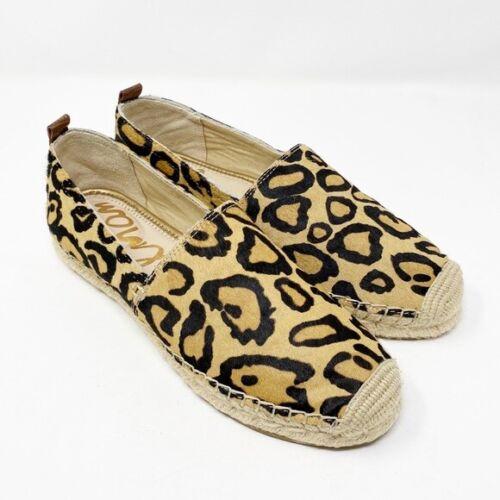 Sam Edelman Leopard Print Calf Hair Espadrilles Sz