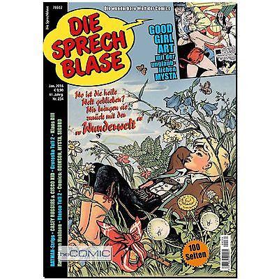 Die Sprechblase 234 Comic Zeitung Rolf Kauka Klaus Dill Goo Girl Art 100 S. 70er