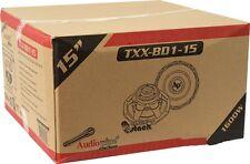 "New Audiopipe TXXBD115 1600W 15"" TXX-BD1-15 Dual 4 ohm Car Subwoofer Low $"