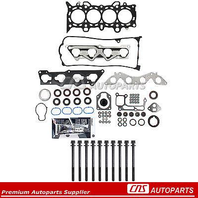 Cylinder Head Gasket Set Fits 01-05 Honda Civic EX HX D17A2 D17A6 1.7L SOHC 16v