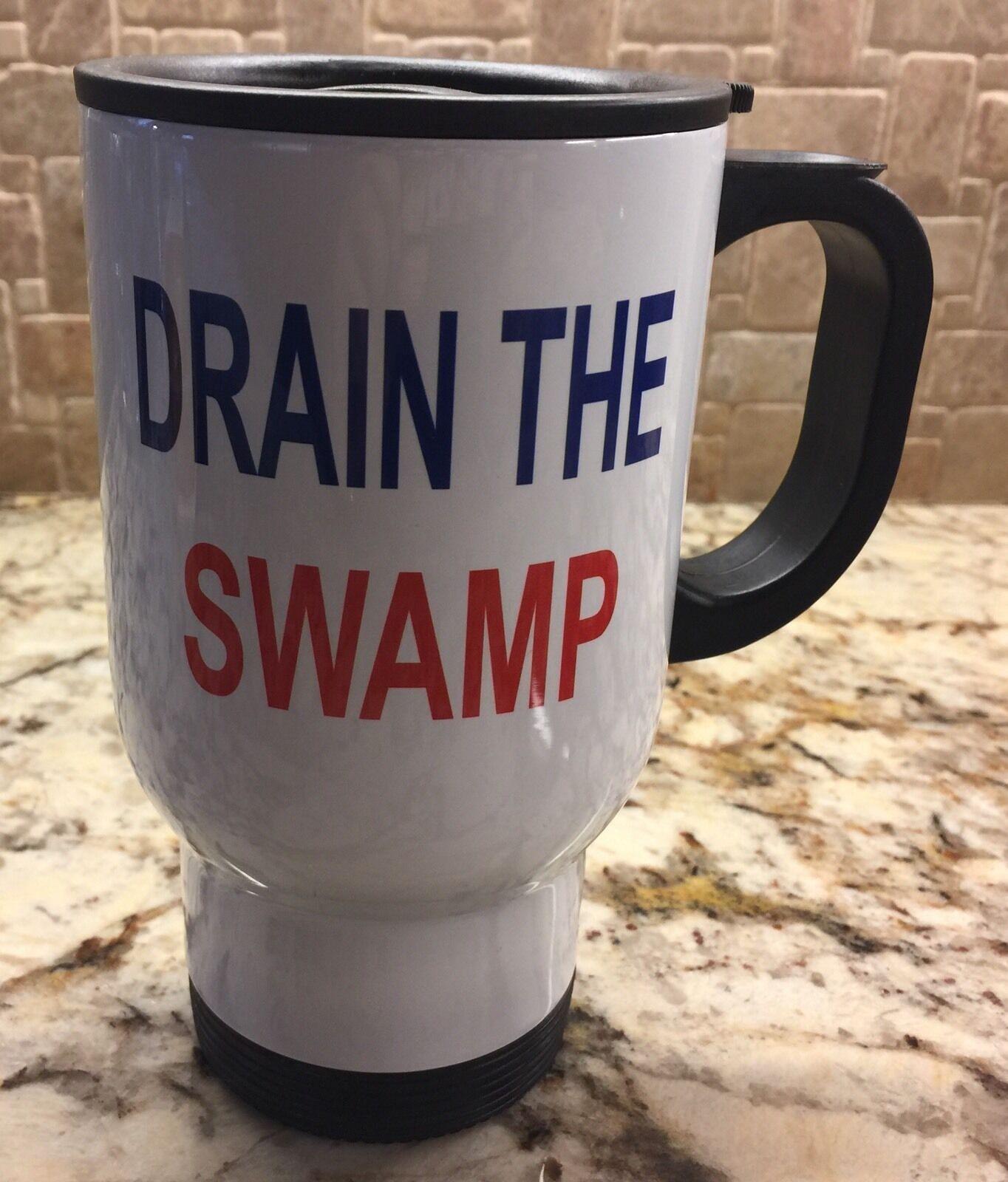 Drain The Swamp 20oz Tumbler Trump Tumbler Travel Mug Trump Mug Drain The Swamp Trump 20 Oz Tumbler Trump Tumblers Fathers Day Gift