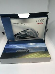Rietze-HO-1-87-Audi-A2-Limited-Edition-Lufthansa-Promo-Model-in-Presentation-Box