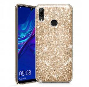Détails sur Coque Pour Huawei P Smart 2019 Silicone TPU Gel Or Brillant Paillettes Doré
