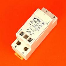 Genuine Relpol RG25 2PNO Interruptor DPDT dpno 48V 25A Relé De Enganche Riel Din 48V DC