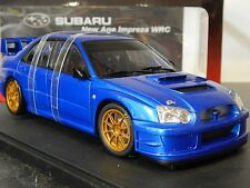 1/18 SUBARU IMPREZA STI 2003 WRC BLOB EYE PLAIN BODY (BLUE) AUTOART RARE WRX