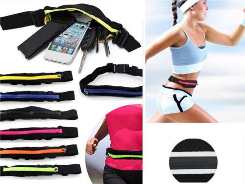 Sporttaschen & Rucksäcke Unisex Bauchtasche Laufgürtel Handy Sport Jogging Bag Running Belt Gürteltasche