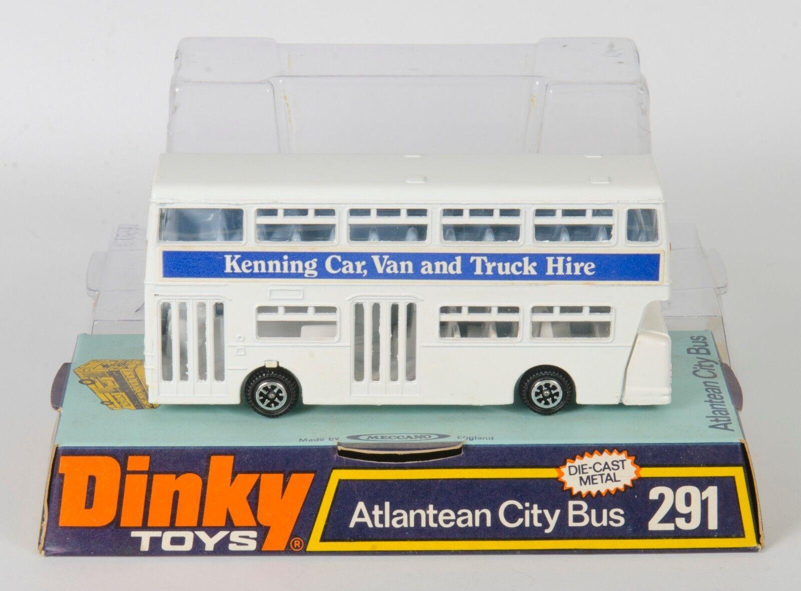 Dinky Toys 291 Atlantean City Bus. blanc. Kenning Hire.  VNMINT Boxed 1970's  acheter une marque