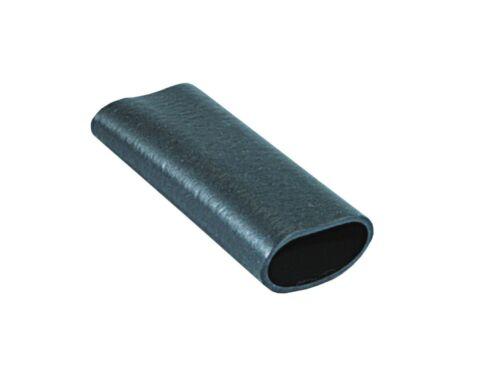 25 x Gummitülle für Kabel Ø 3-6mm schwarz Länge 25mm