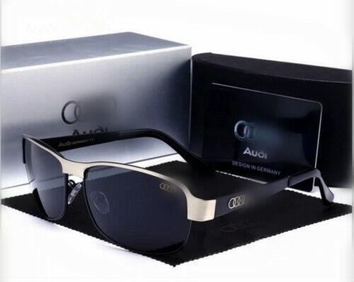 Neu Sunglasses Audi sunglasses new brand men polarized driving counter box AAA