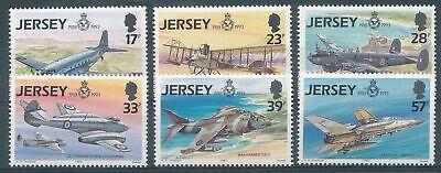 Verkehr & Transport Gb Jersey Nr.615-620** Flugzeuge SpäTester Style-Online-Verkauf Von 2019 50% 300704