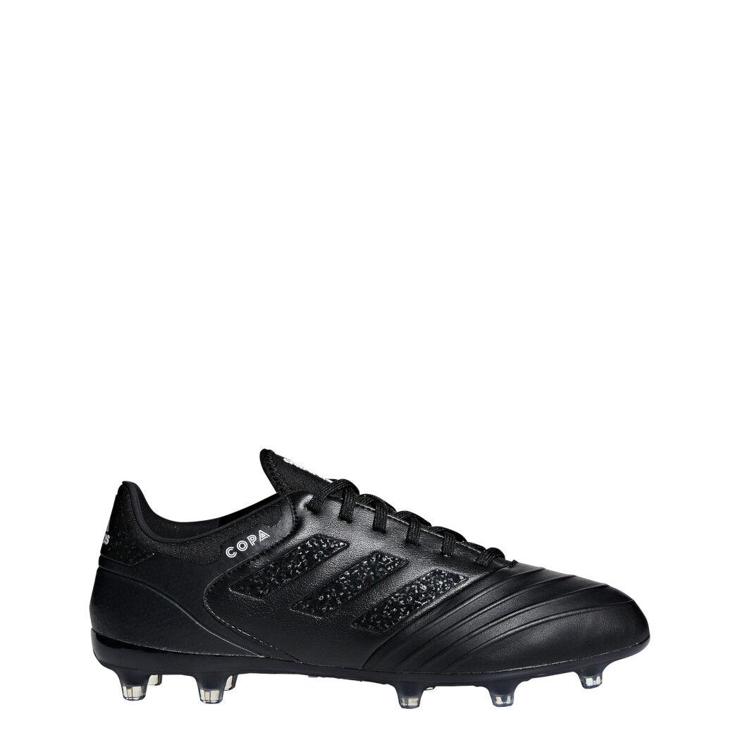 Adidas Copa 18.2 Fg pelle Scarpe da Calcio NeroBiancoNero [DB2445]
