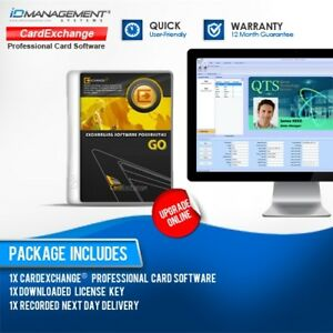 card exchange go professional id card software free uk delivery ebay