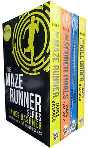 Maze runner books in order to read