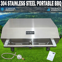 Euro Grand Portable 304 Stainless Steel Gas Bbq, Grill Barbeque Oven