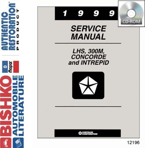 1999 Chrysler LHS 300M Concorde Intrepid Shop Service Repair Manual CD Engine