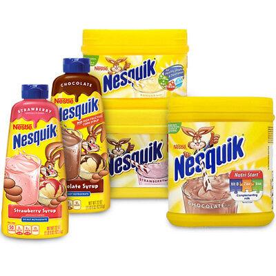 Nesquik milkshake mix all flavors (variation listing) | eBay