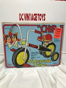 Vintage 1981 «Empire» Empire «jetons» Trke Ponch & Jon très rare Look Show Tv Show Side Walk Trike Ponch & Jon Very Rare Look