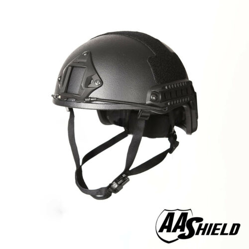 AA Shield Bulletproof ACH High Cut Tactical Helmet Aramid Safety IIIA Multicolor