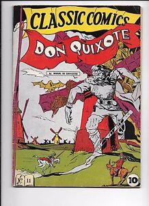 Classic-Comics-11-Don-Quixote-May-1943-original-edition