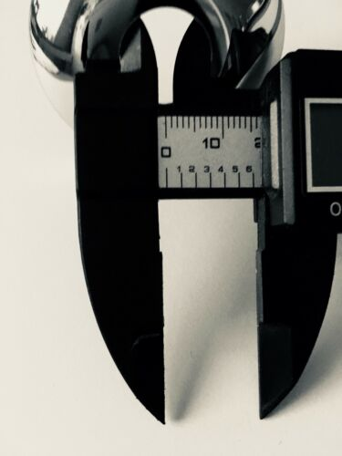 Chrome Plaqué Acier Inoxydable Radiateur Pipe Cover col rose 16 mm