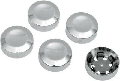 """Rear 7//16/"""" Pulley Hex Bolt Cover Black by Drag Specialties for Harley Davidson"""