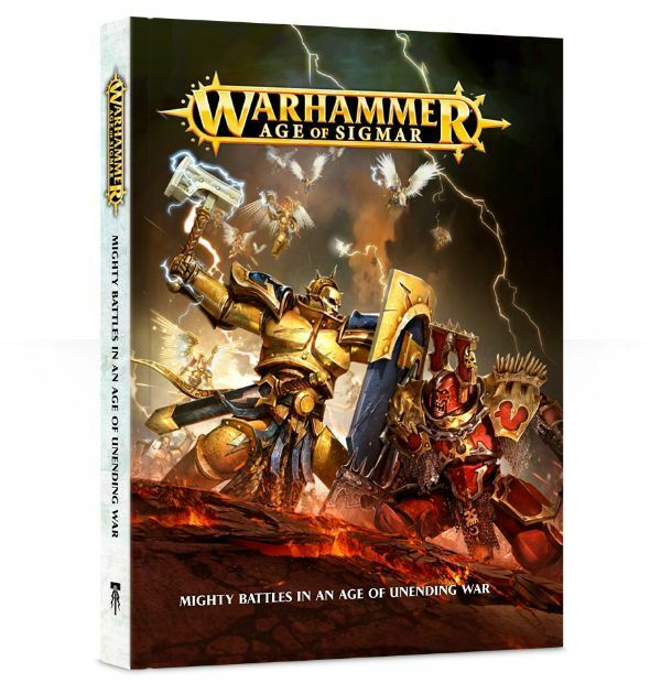 WARHAMMER  AGE OF SIGMAR RULE BOOK - GAMES WORKSHOP