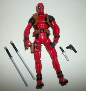 4/'/' Marvel Universe Deadpool Gift Loose Action Figure Red Blue Grey X-Men Toy