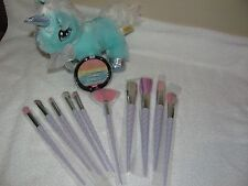 WET AND WILD UNICORN GLOW COLORICON HIGHLIGHT & 10 PIECE RAINBOW MAKEUP BRUSHES