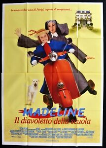 M198 Manifesto 4F Madeline The Devil Of School Vespa Piaggio 50 Nun