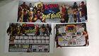CAPCOM (CPS2) X-Men vs Street Fighter Arcade Marquee Insert Art set (Card)