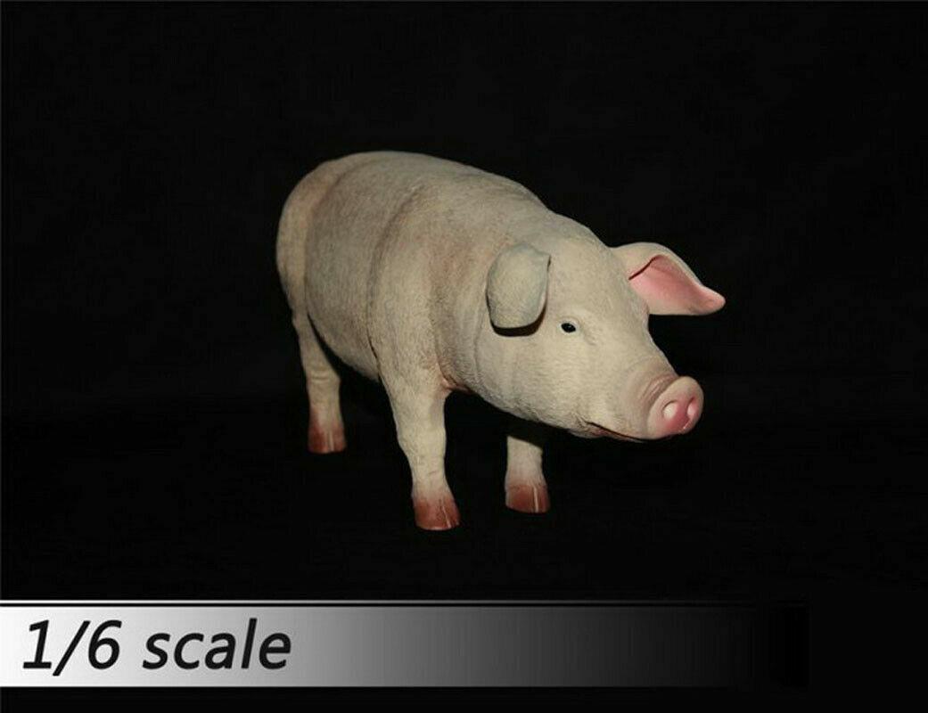 1 6 Journey to the West Zhu Bajie White Pig Ver. Model Pet Animal Figure Model