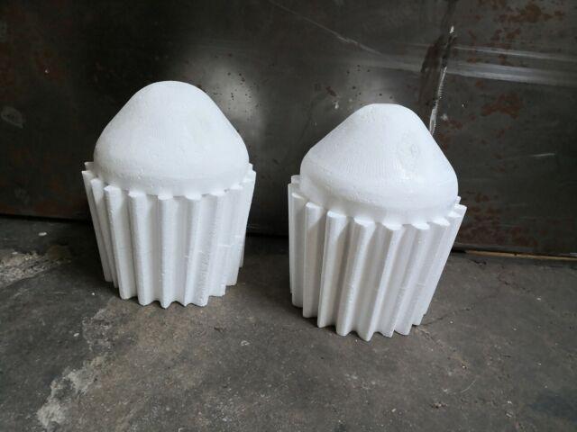 Styropor Muffin Ø 8-6x5 cm Torte Dummy Cup Cake Grundlage Hervorragend zum Üben