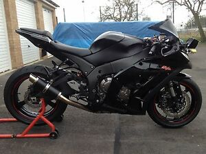Kawasaki Zx10r 2011 16 Black Gp Pro Race Motorbike Exhaust Can Ebay