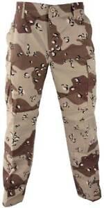 Storm Chip Camo Pants Desert Large Color Chocolate 6 Nwt Trouser Combat Wrangler qnEfaZ
