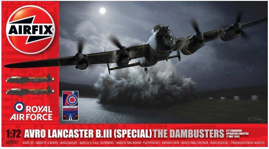 apresurado a ver Airfix Airfix Airfix 1 72 Avro Lancaster 'Dambusters'  09007  bajo precio
