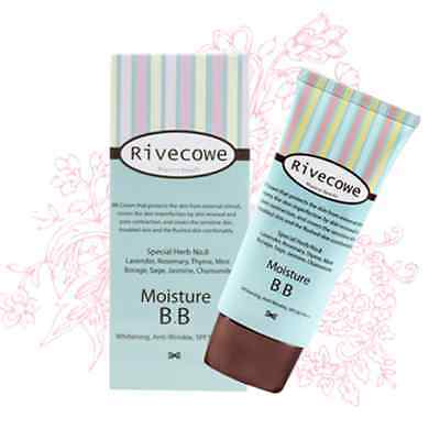 Rivecowe Moisture BB cream Natural cover Whitening Anti Wrinkle SPF30 PA++