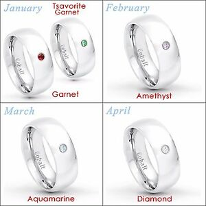 August Birthstone Ring Men/'s Anniversary Band,7mm Polished Finish Comfort Fit Dome Cobalt Wedding Ring CT252 0.07ct Peridot Solitaire Ring