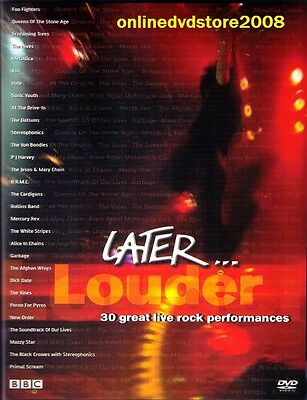 LATER... LOUDER (Jools Holland) UK TV SHOW - LIVE MUSIC DVD (NEW & SEALED)