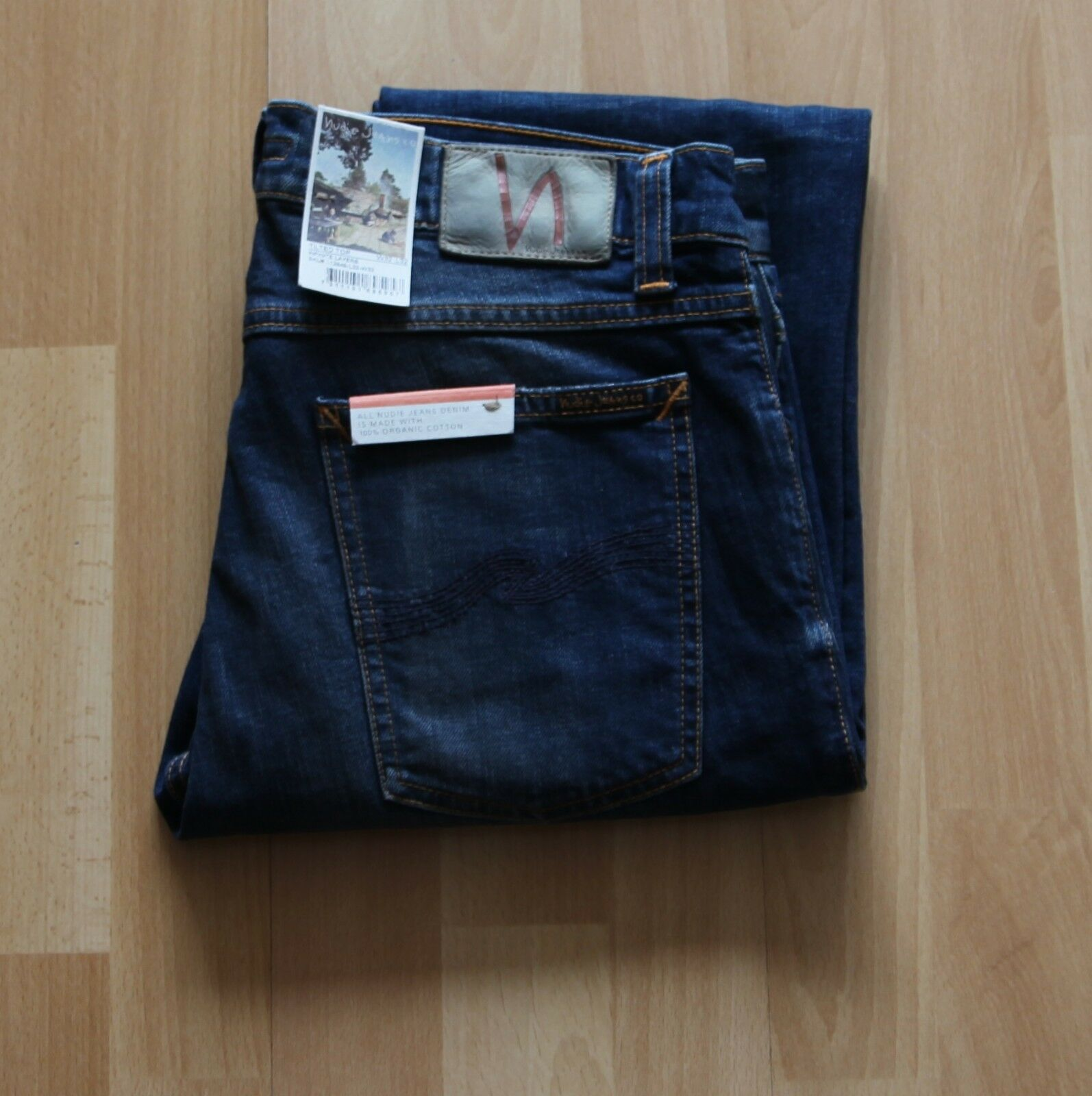 NEU Nudie Jeans TILTED TOR (Tight Fit) Infinite Layers 32 32