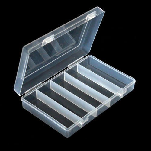Clear Coin Storage Box Case Commemorative Collection Holder Organizer Container